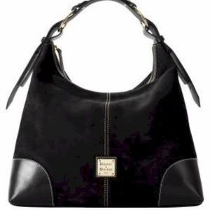 Dooney & Bourke Nubuck Large Nikki Bag